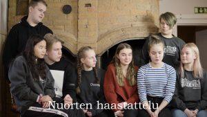 Nuorten haastattelu-video